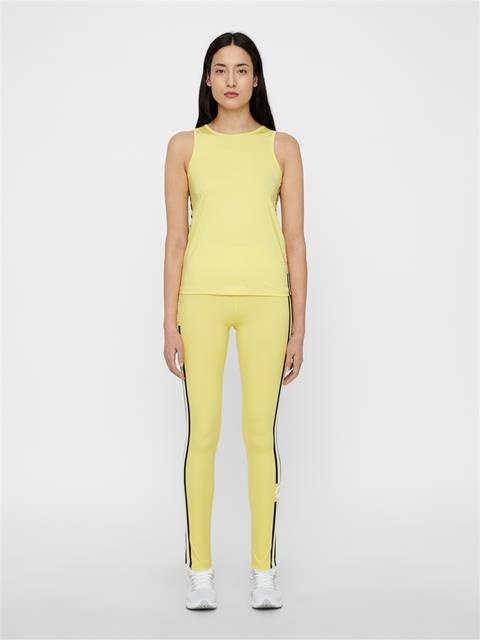 Womens Elaina Compression Leggings Butter Yellow