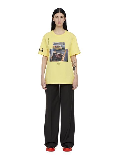 Mens Jordan Distinct T-shirt Butter Yellow