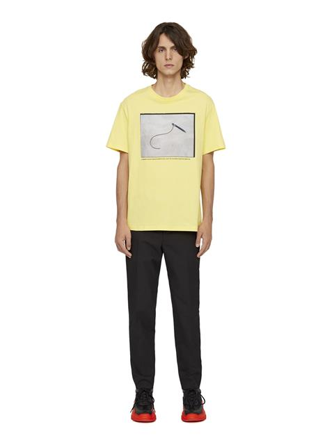 Mens Jordan Distinct T-shirt Butter Yellow