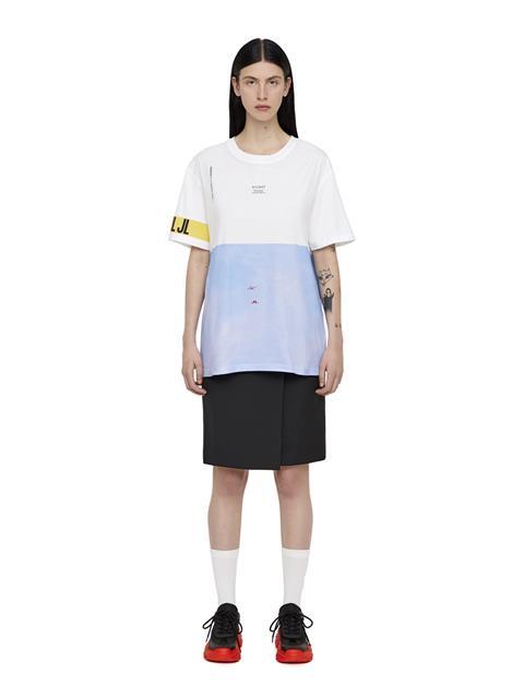 Mens Jordan Distinct T-shirt White