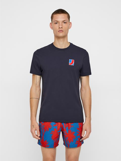 Mens Bridge T-shirt JL Navy