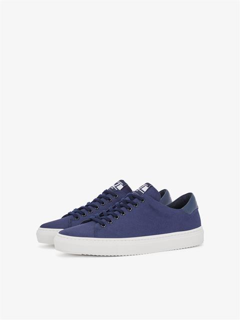 Mens Axl Canvas Sneaker JL Navy