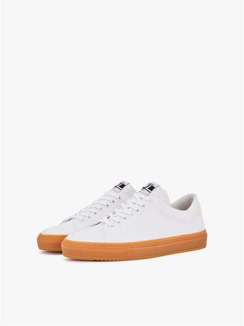 Mens Axl Canvas Sneaker White