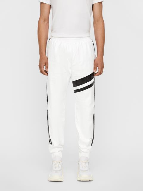 Mens Isaak Tyvek Track Pants White