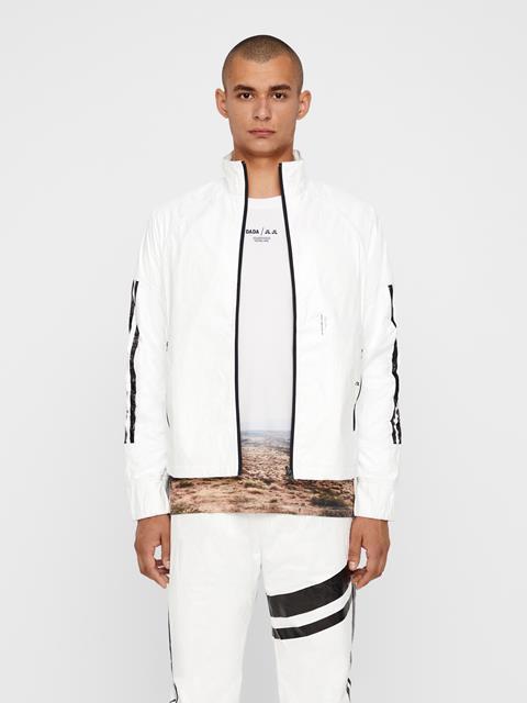 Mens Isaak Tyvek Track Jacket White