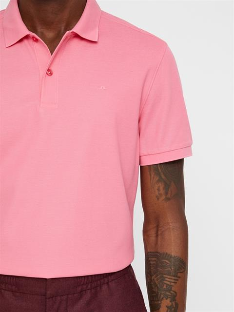Mens Troy Pique Polo Hubba Bubba