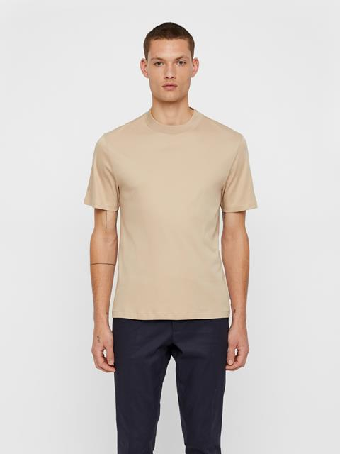 Mens Ace T-shirt Oxford Tan