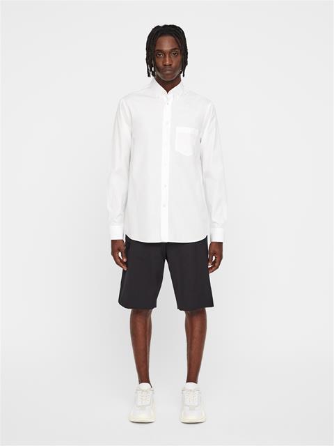 Mens David Seasonal Graphic Shirt White