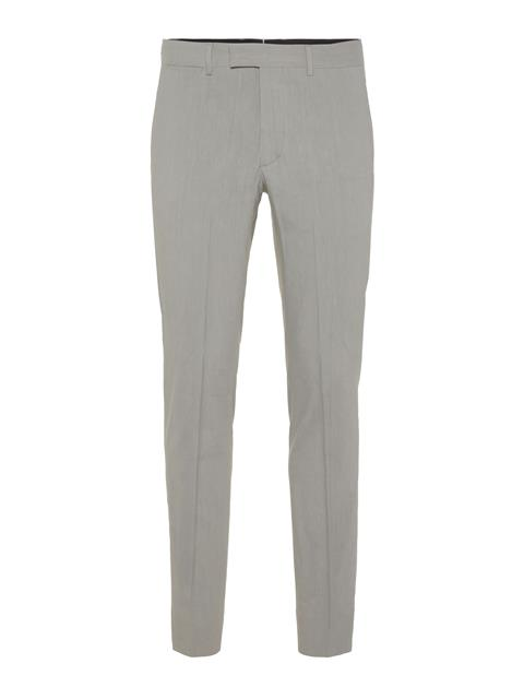 Mens Grant Stretch Linen Pants Soft Ash
