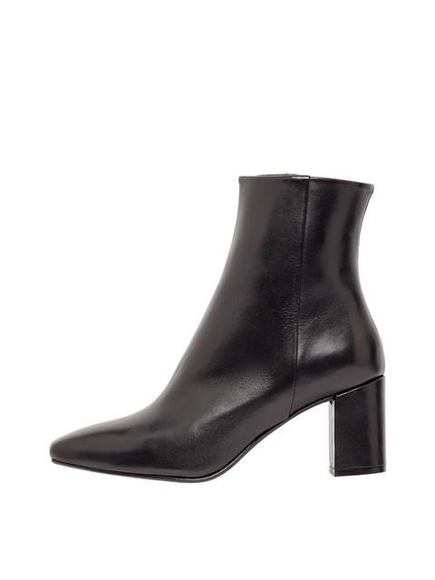 Womens Becca Leather Boots Black