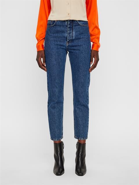 Womens Inez Jeans - Stone Mid Blue