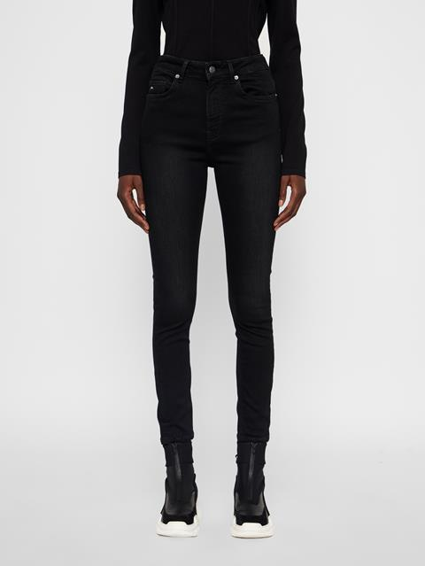 Womens Uma Jeans - Darken Black