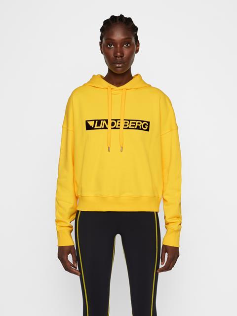 Womens Leila Ring Loop Sweatshirt Sun Yellow