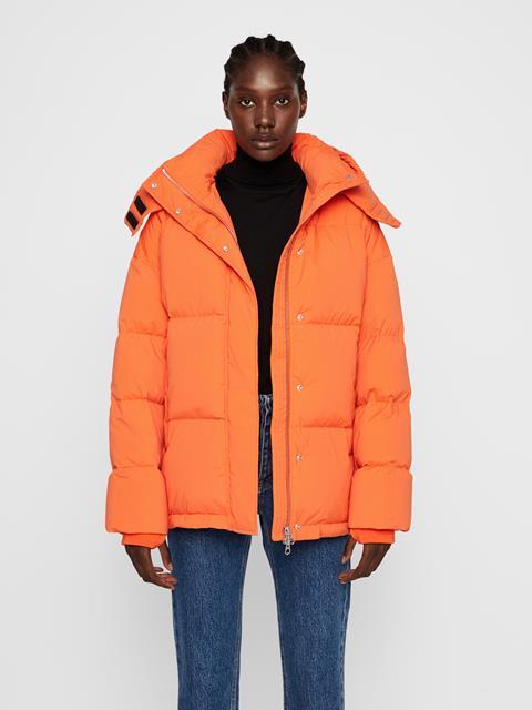 Womens Sloane Down Jacket Juicy Orange