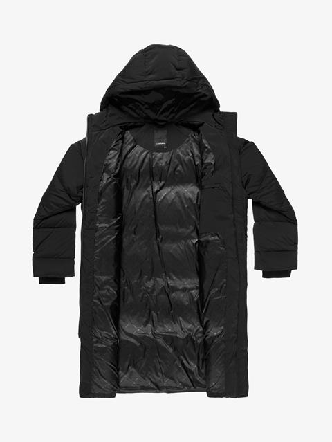 Womens Sydney Down Parka Black