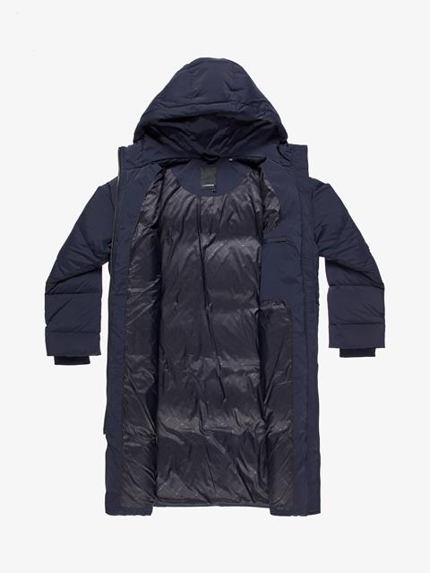 Womens Sydney Down Parka JL Navy