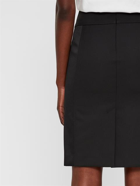 Womens Jessi Pencil Skirt Black
