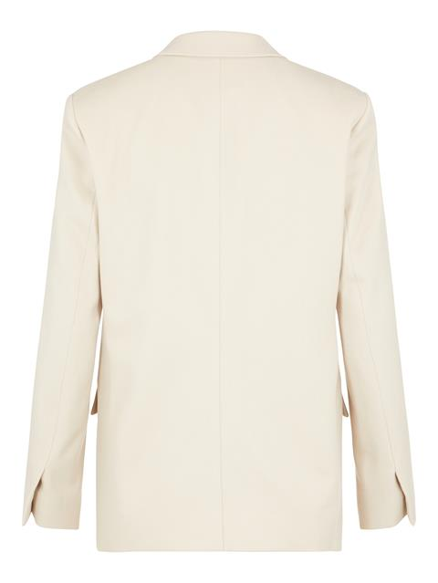 Womens Delano Flannel Blazer Oxford Tan