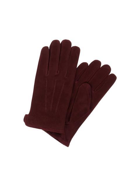 Mens Sono Suede Glove Dark Mocca