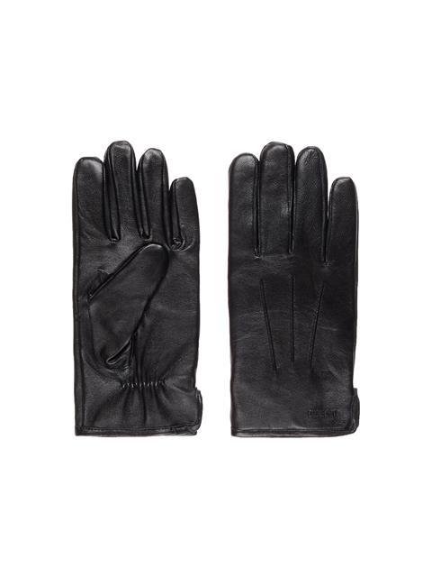 Mens Bono Leather Glove Black