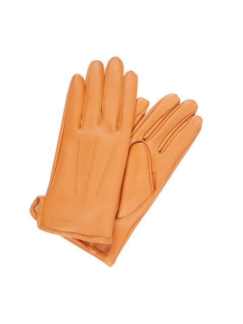 Mens Bono Leather Glove Cognac