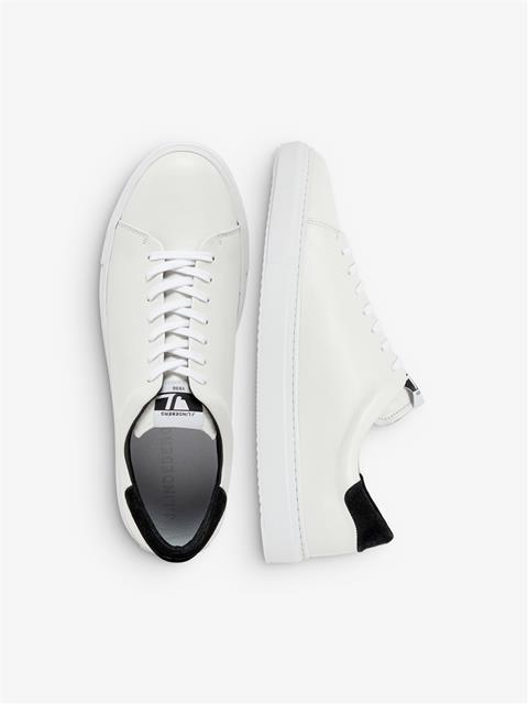 Mens Low Top Sneakers White