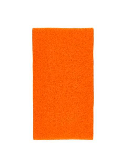 Mens Champ Casentino Wool Scarf Juicy Orange