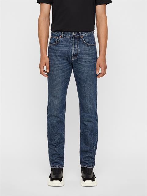 Mens Johnny Jeans - Dark Crape Dark Blue