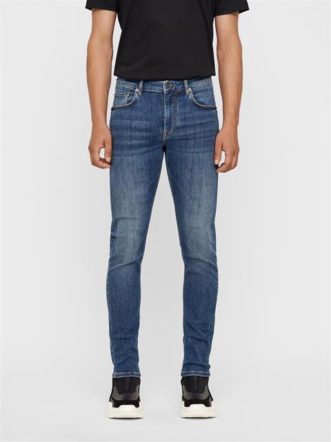 Mens Damien Jeans - Weary Mid Blue