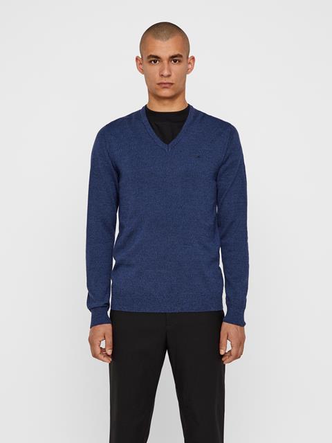 Mens Lymann Sweater Blue Mouline