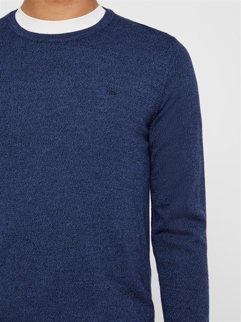 Mens Lyle Sweater Blue Mouline
