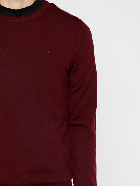 Mens Lyle Sweater Dark Mocca
