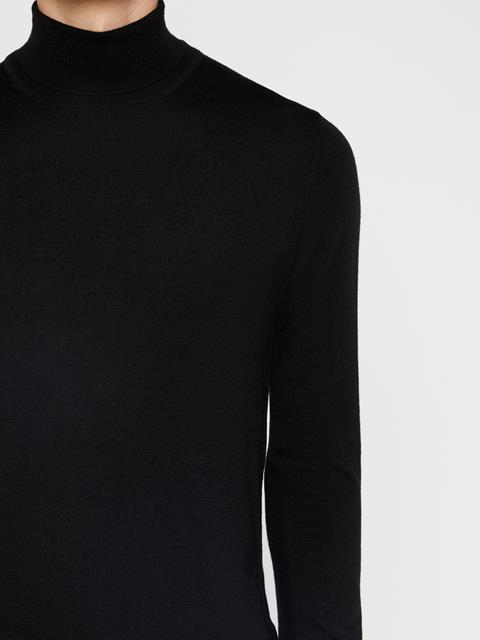 Mens Lyd Turtleneck Sweater Black
