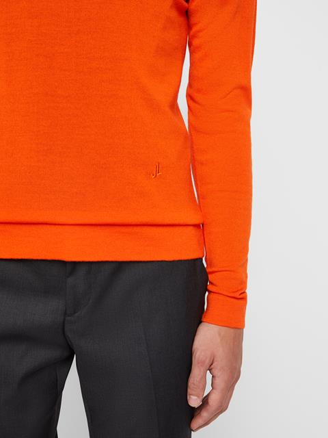 Mens Newman Sweater Juicy Orange