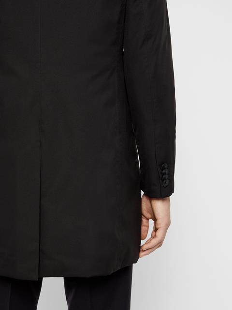 Mens Wolger Tech Coat Black