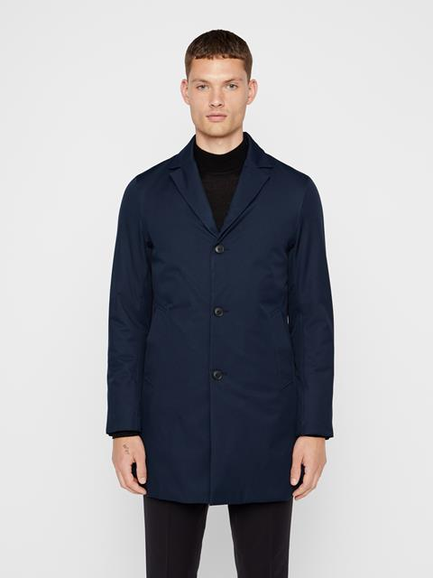 Mens Wolger Tech Coat JL Navy