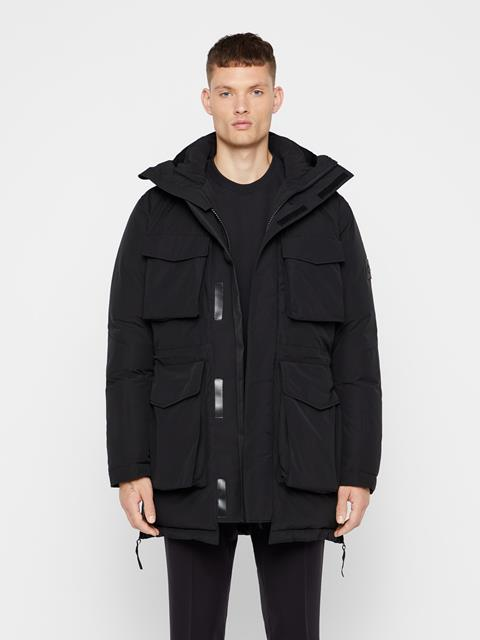 Mens Bon Down Parka Black