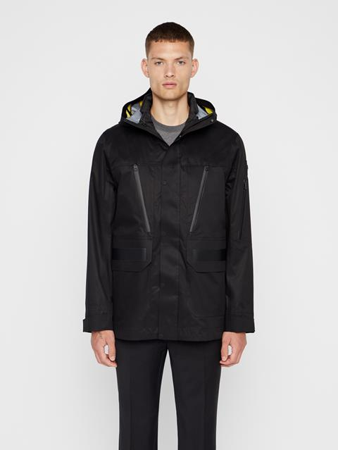 Mens Leroy Tech Jacket Black