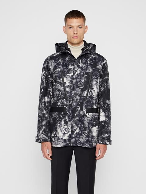 Mens Leroy Tech Jacket Glacier Grey