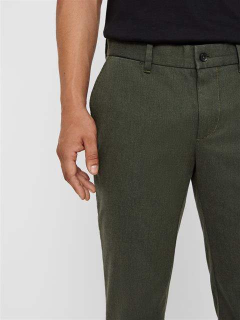 Mens Chaze Flannel Twill Pants Forest Green