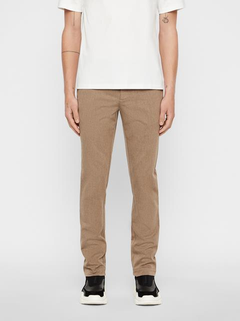 Mens Chaze Flannel Twill Pants Grey/Brown