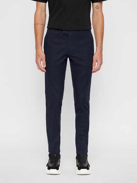 Mens Grant Micro Texture Pants JL Navy