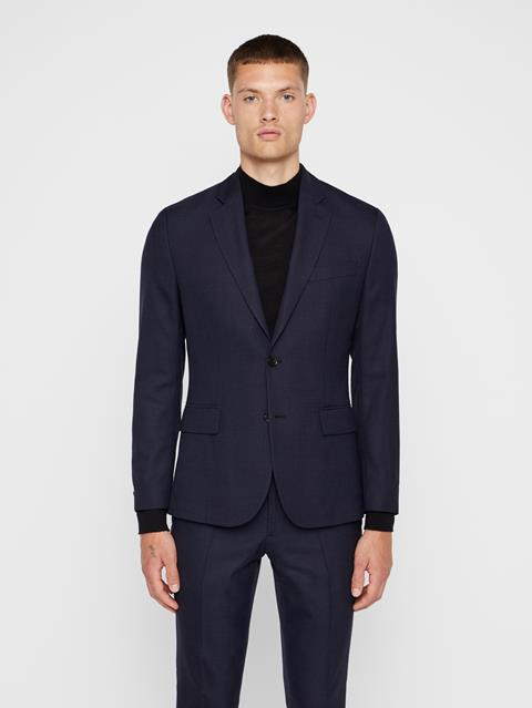 Mens Hopper Soft Combat Blazer JL Navy
