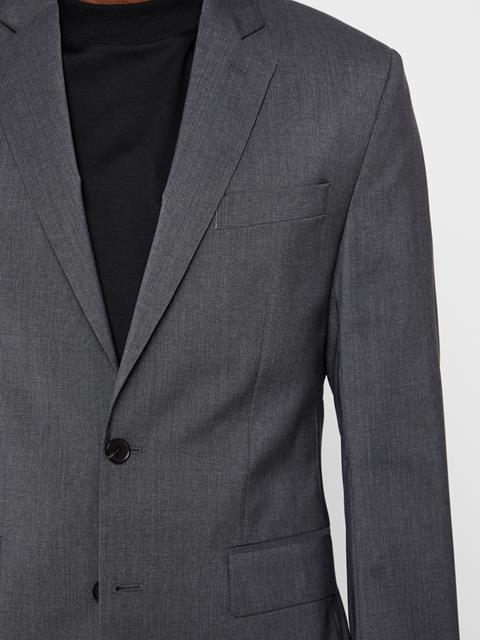 Mens Hopper Comfort Wool Blazer Anthracite