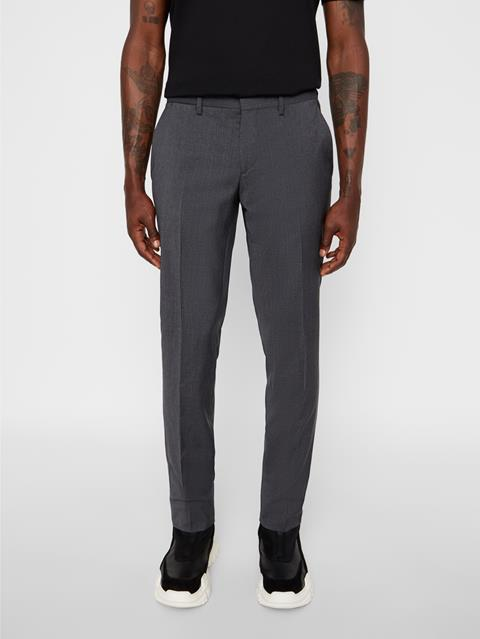 Mens Paulie Comfort Wool Pants Anthracite