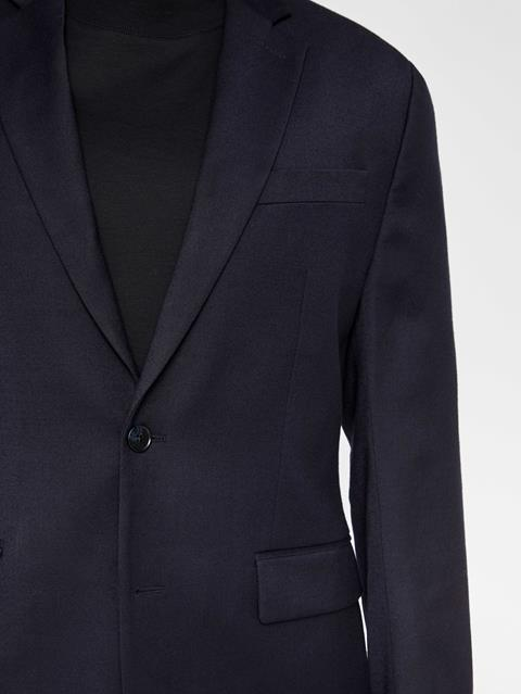 Mens Hopper Flannel Blazer JL Navy