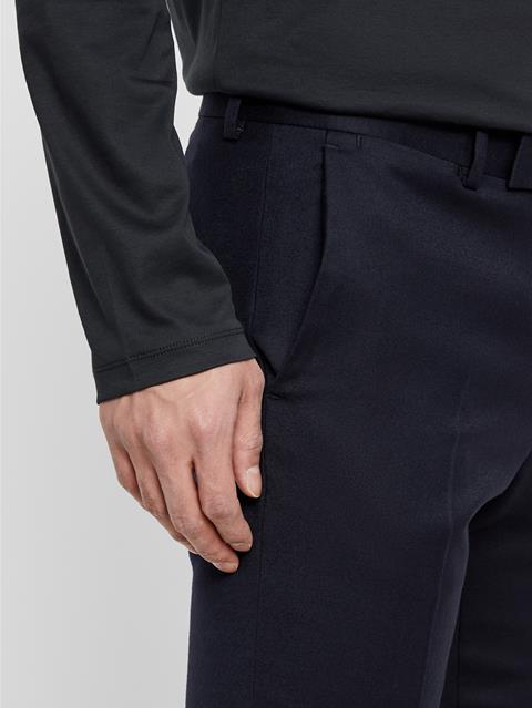 Mens Grant Flannel Pants JL Navy