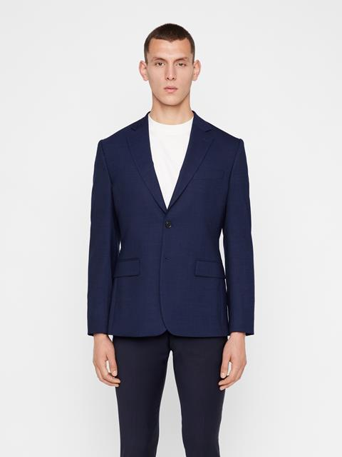 Mens Donnie 2-tone Textured Blazer JL Navy