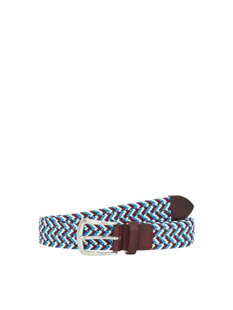 Mens Hatcher Elastic Belt Dark Mocca