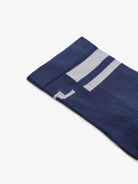Mens Dry Yarn Golf Sock JL Navy